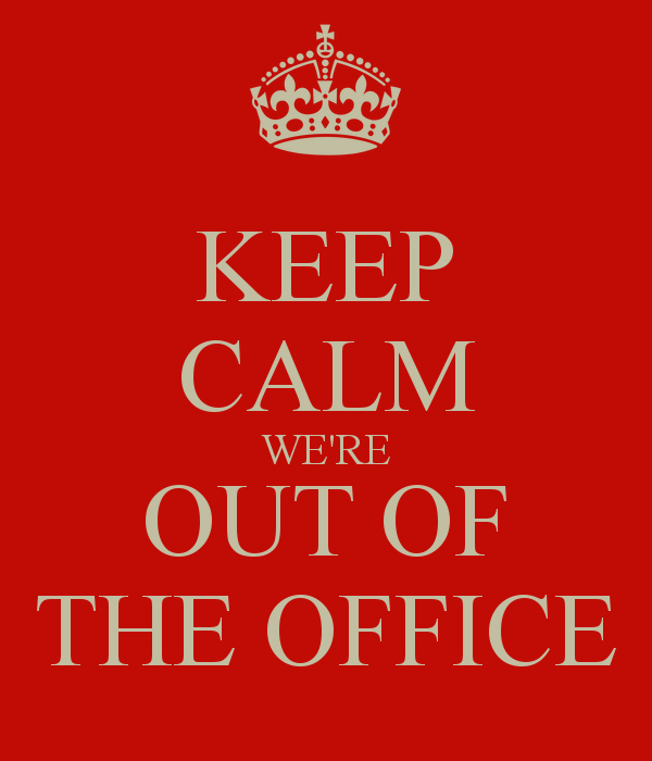 out of office dec 11th