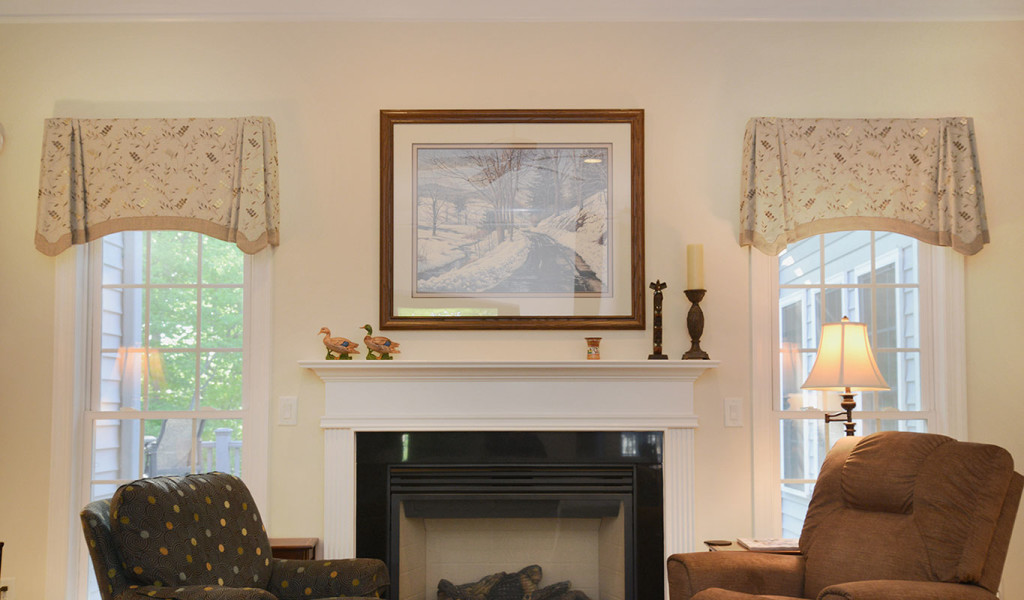 Window Works Studio Tailored Valances Window Treatments: Tailored Valances  For Living Room.