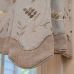 Window Works Studio tailored valances window treatments