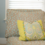 Window Works Studio multi-fabric pillow