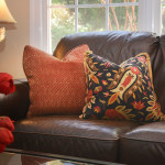 Window Works Studio down-feather filled pillows