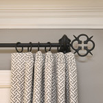 Window Works Studio Euro pleats and iron drapery hardware window treatments