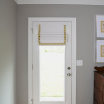 Window Works Studio cordless roman shade window treatment