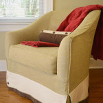 Window Works Studio chair slipcover