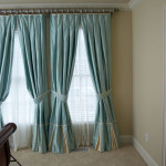 Window Works Studio box pleated drapery window treatments