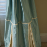 Window Works Studio silk drapery window treatments